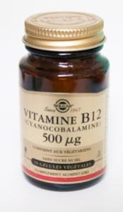 Cyanocobalamine 500 mcg Solgar