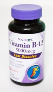 B12 Natrol 5000 mcg