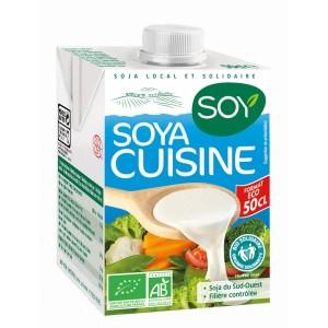 creme soja cuisine