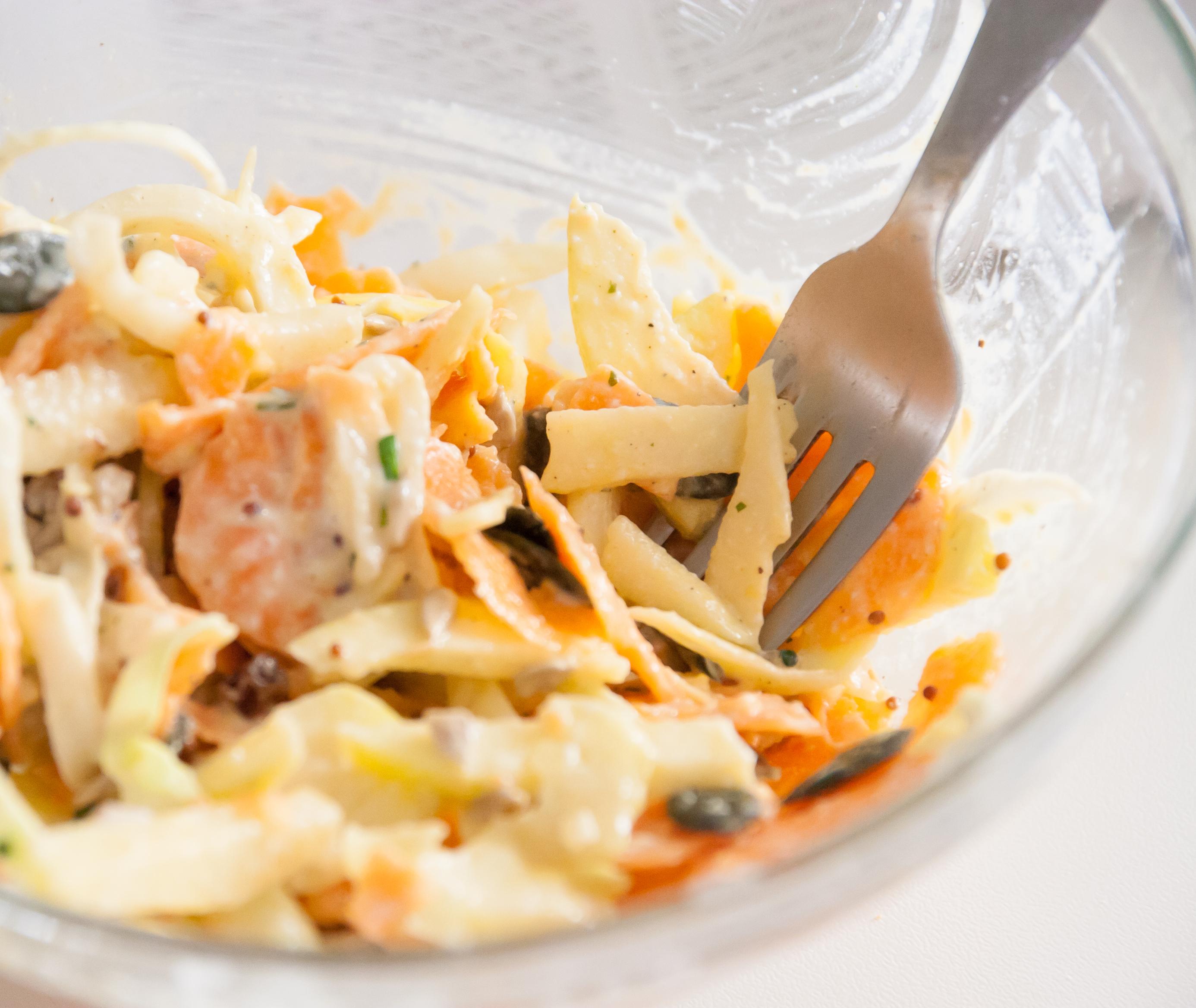 Salade chou/carotte/pomme