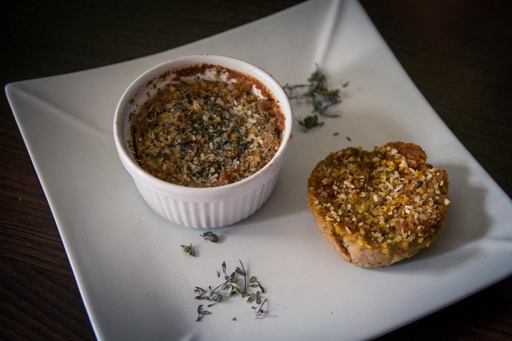 fromage rôti au miso et herbes de Provence