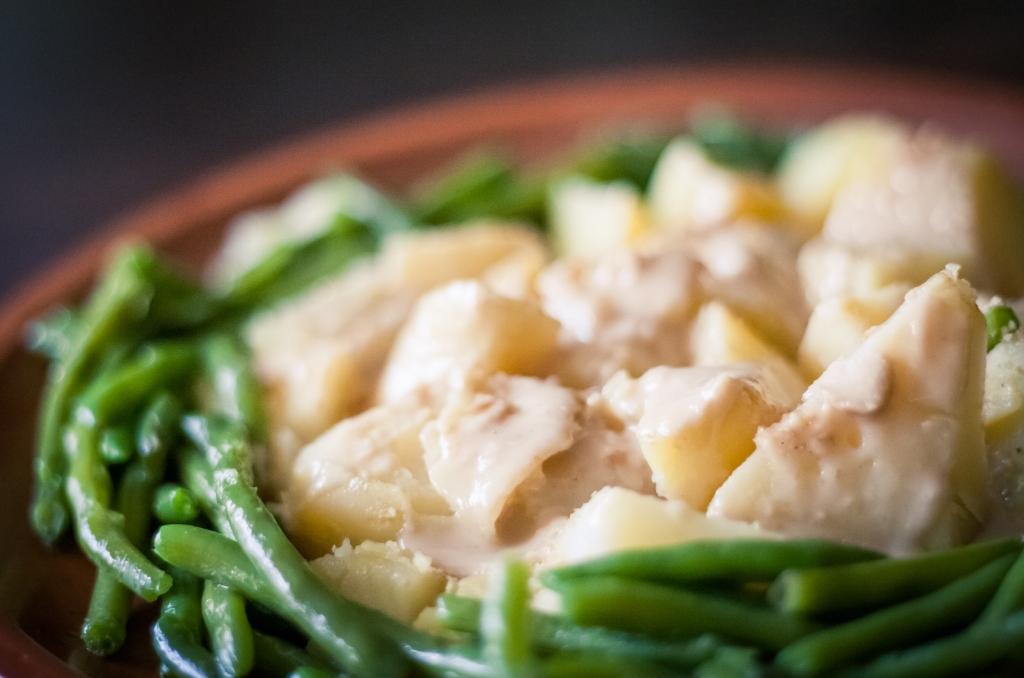 pommes de terre au tahin