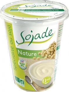 yaourt soja nature Sojade