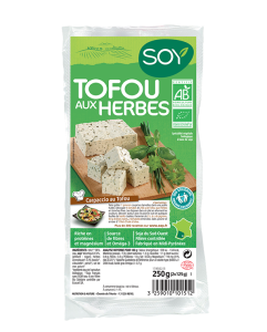 tofu aux herbes Soy