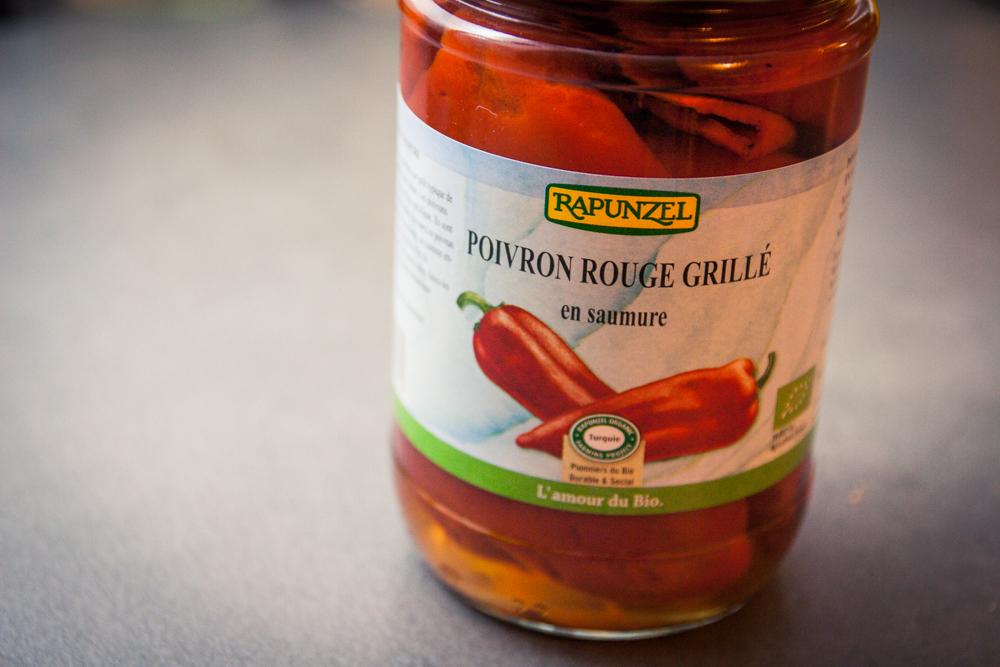 poivron rouge grillé